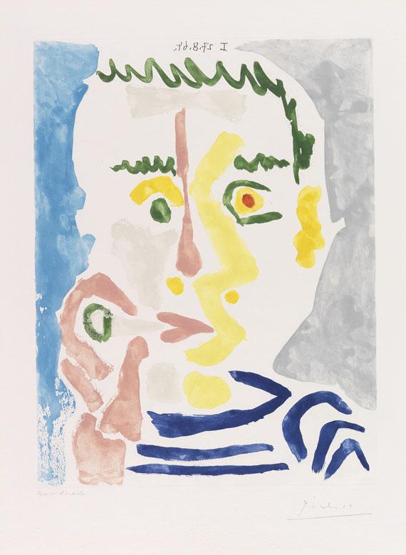 Pablo Picasso - Fumeur à la cigarette blanche