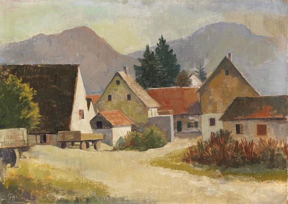 Karl Hofer - Badische Landschaft