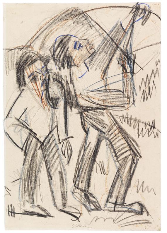 Ernst Ludwig Kirchner - Bogenschütze
