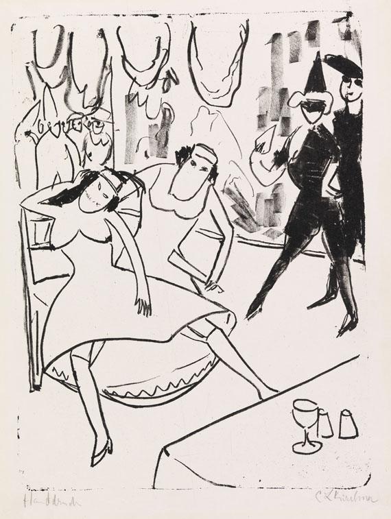 Ernst Ludwig Kirchner - Maskenball