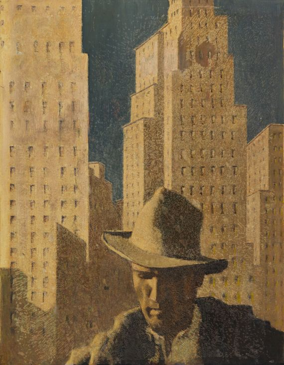 Alfons Walde - Der verlorene Sohn (Entwurf für den Buchumschlag)