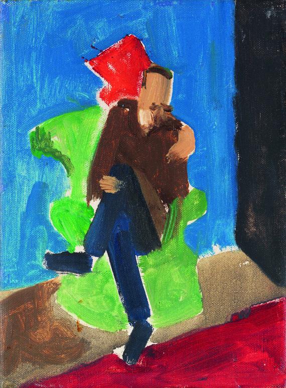 Gabriele Münter - Mann im Sessel