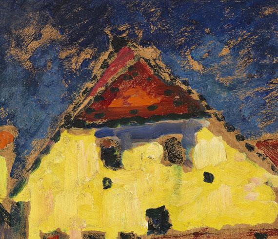 Alexej von Jawlensky - Gelbe Häuser - Weitere Abbildung