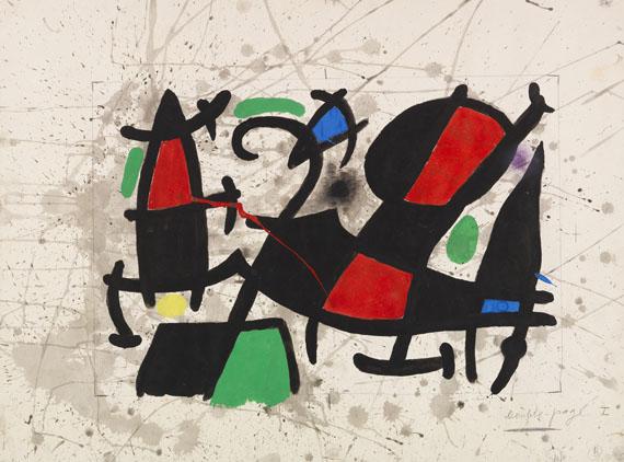 Joan Miró - Ohne Titel