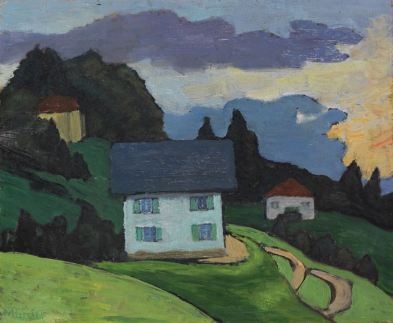 Gabriele Münter - Haus am Hang