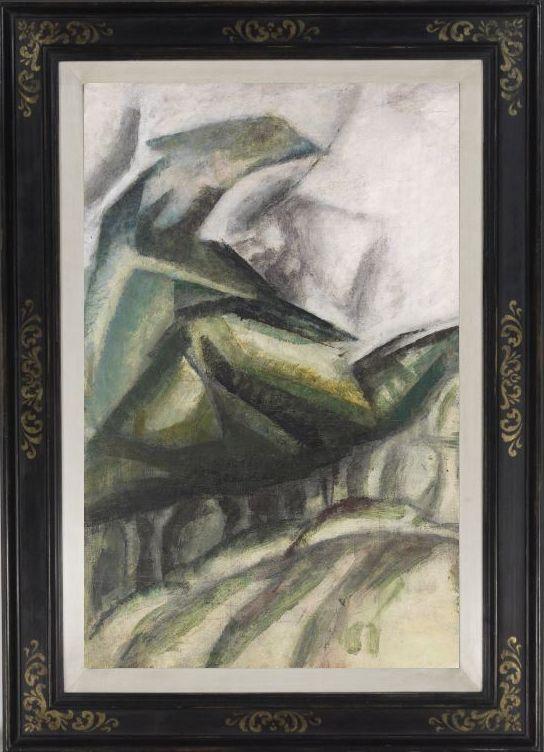 Lyonel Feininger - Waldszene - Rahmenbild