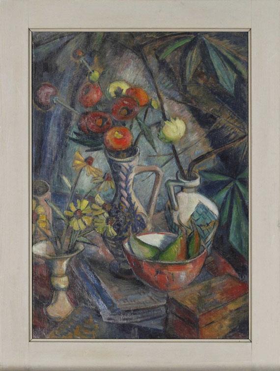 Dorothea Maetzel-Johannsen - Stilleben mit Blumen - Frame image