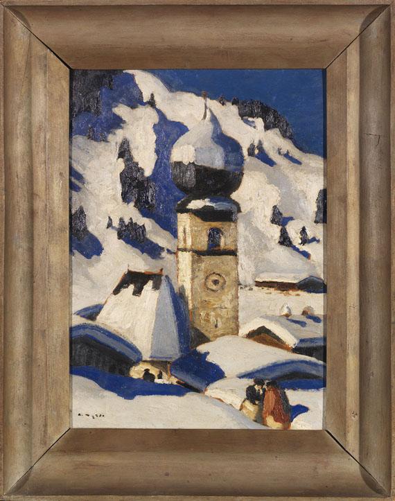 Alfons Walde - Aurach bei Kitzbühel - Frame image
