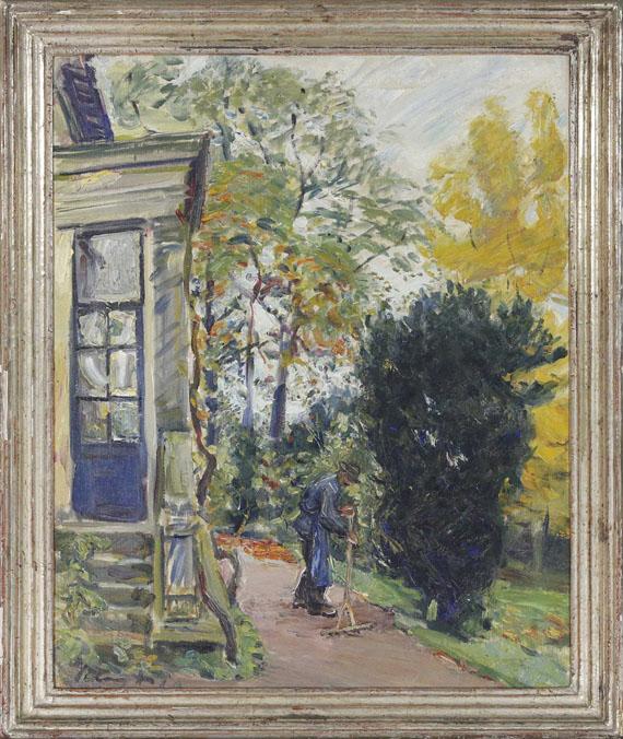 Max Slevogt - Gärtner vor dem Haus - Frame image