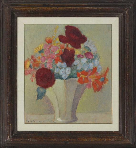 Alexej von Jawlensky - Grosses Stillleben: Helles Bouquet - Frame image
