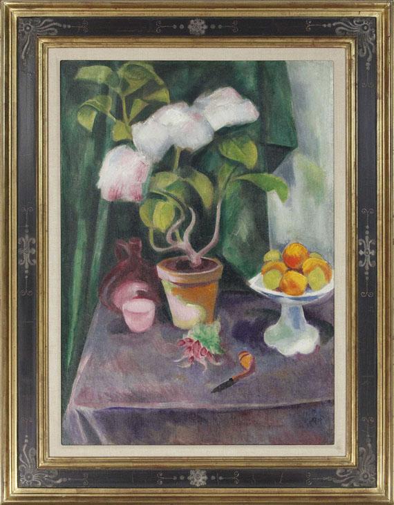 Hermann Max Pechstein - Blumenstillleben - Frame image