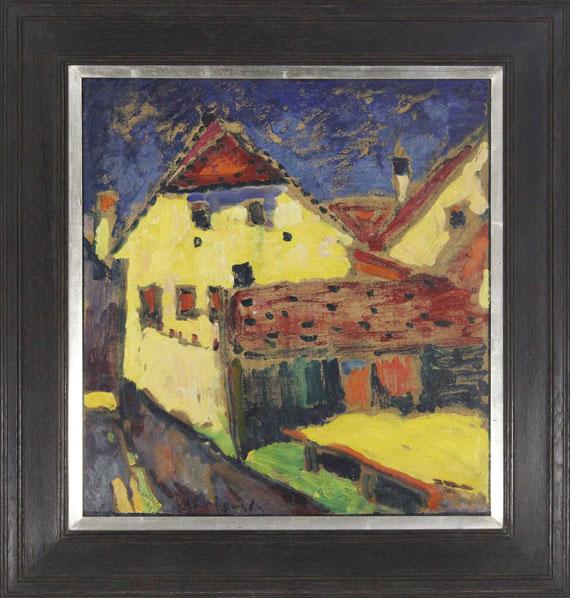 Alexej von Jawlensky - Gelbe Häuser - Rahmenbild