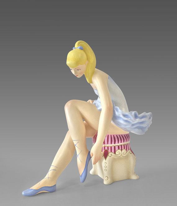 Jeff Koons - Seated Ballerina - Weitere Abbildung