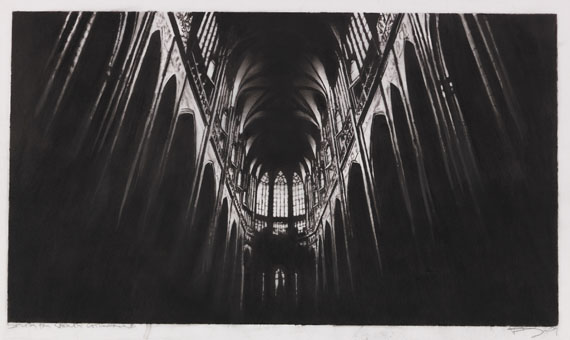 Robert Longo - Study for North Cathedral
