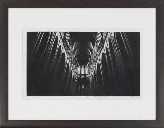 Robert Longo - Study for North Cathedral - Frame image