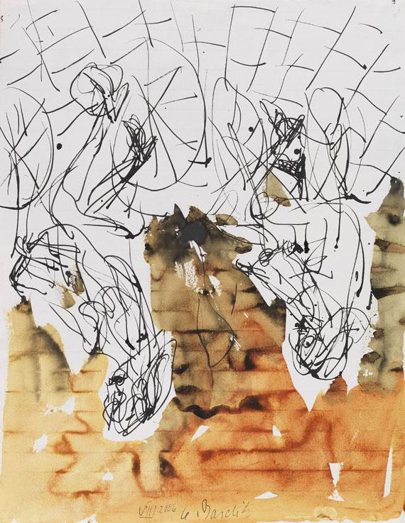 Georg Baselitz - Ohne Titel [Olmo-Mädchen (Remix)]