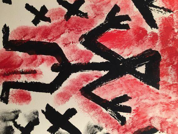 A. R. Penck (d.i. Ralf Winkler) - Drei von Vielen -