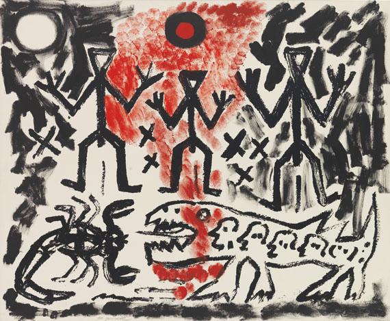 A. R. Penck (d.i. Ralf Winkler) - Drei von Vielen