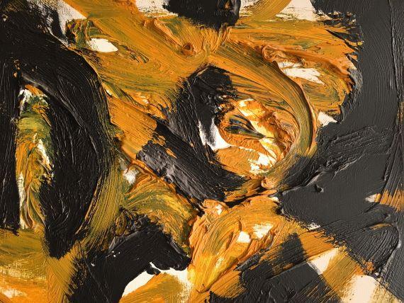 A. R. Penck (d.i. Ralf Winkler) - Dany in London mit Dämon - Weitere Abbildung