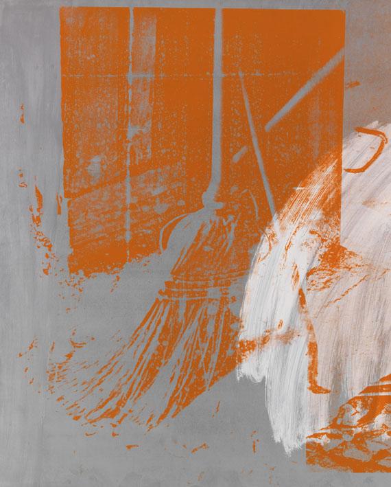 Robert Rauschenberg - County Sweep (Galvanic Suite) -