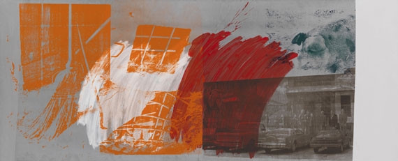 Robert Rauschenberg - County Sweep (Galvanic Suite)