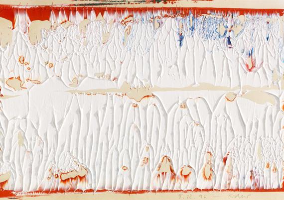 Gerhard Richter - Ohne Titel (9.12.96)