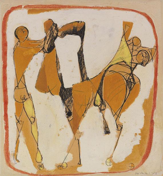 Marino Marini - Cavalli e Cavalieri