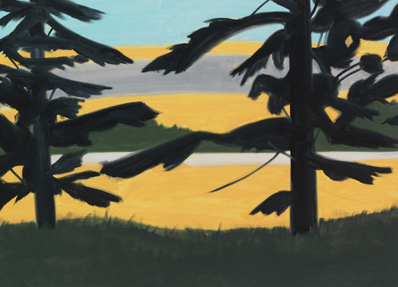 Alex Katz - Sunset 2