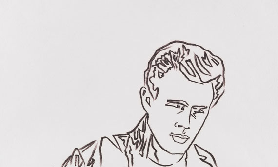 Andy Warhol - James Dean