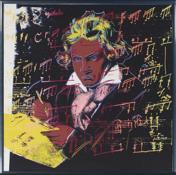 Andy Warhol - Beethoven - Frame image