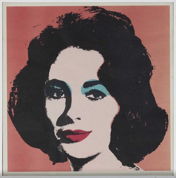 Andy Warhol - Liz - Frame image
