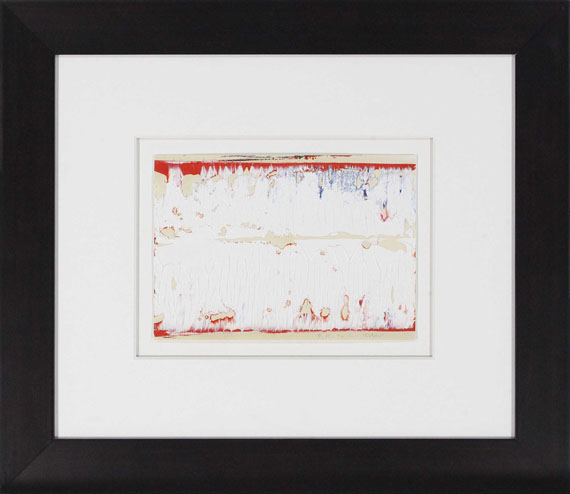Gerhard Richter - Ohne Titel (9.12.96) - Frame image