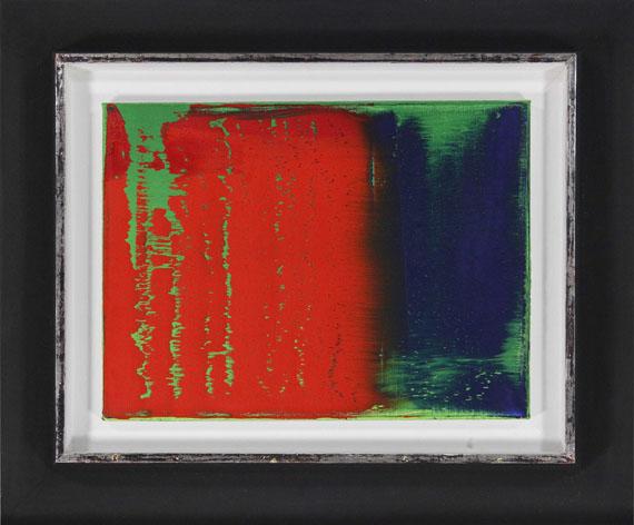 Gerhard Richter - Grün-Blau-Rot - Rahmenbild