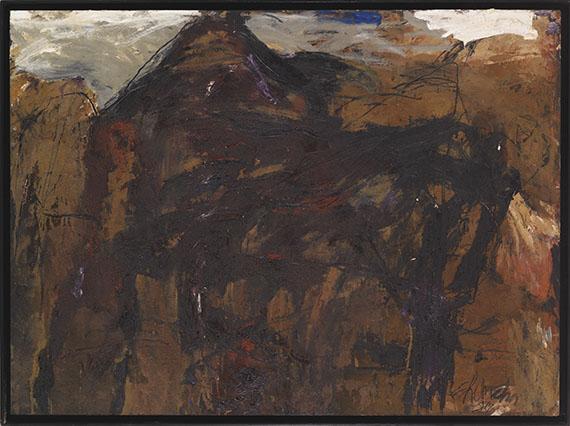 Emil Schumacher - Labas - Frame image