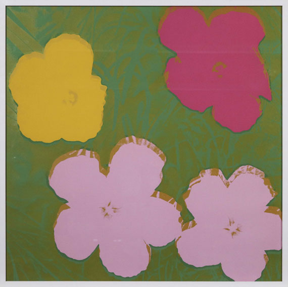Andy Warhol - Flowers - Frame image