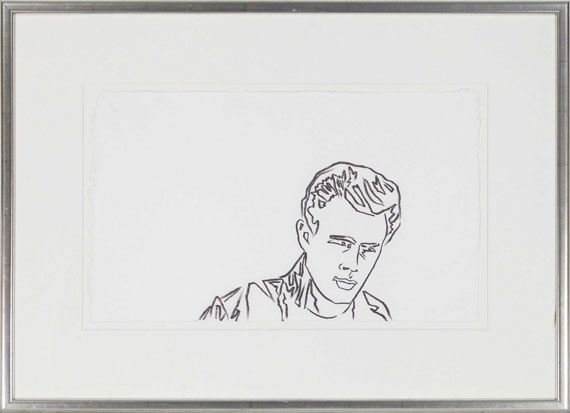 Andy Warhol - James Dean - Rahmenbild