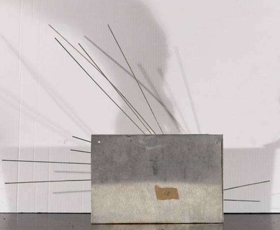 Norbert Kricke - Raumplastik - Rückseite