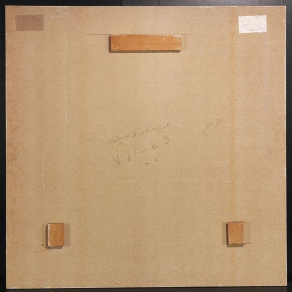 """Herman de Vries - V71 - 23 """"ar"""" - Back side"""