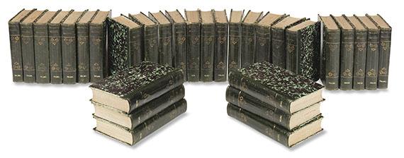 Johann Wolfgang von Goethe - Vollständige Ausgabe letzter Hand. 60 Bde.