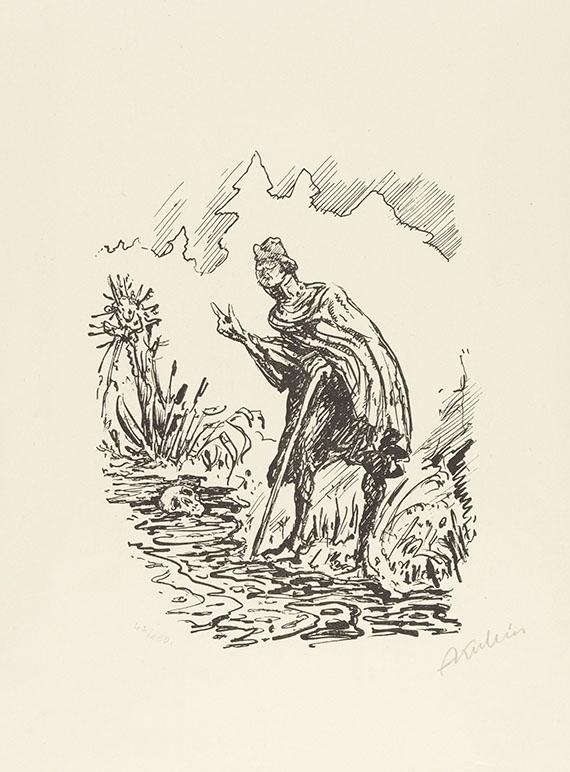 Alfred Kubin - Wassermann Mappe