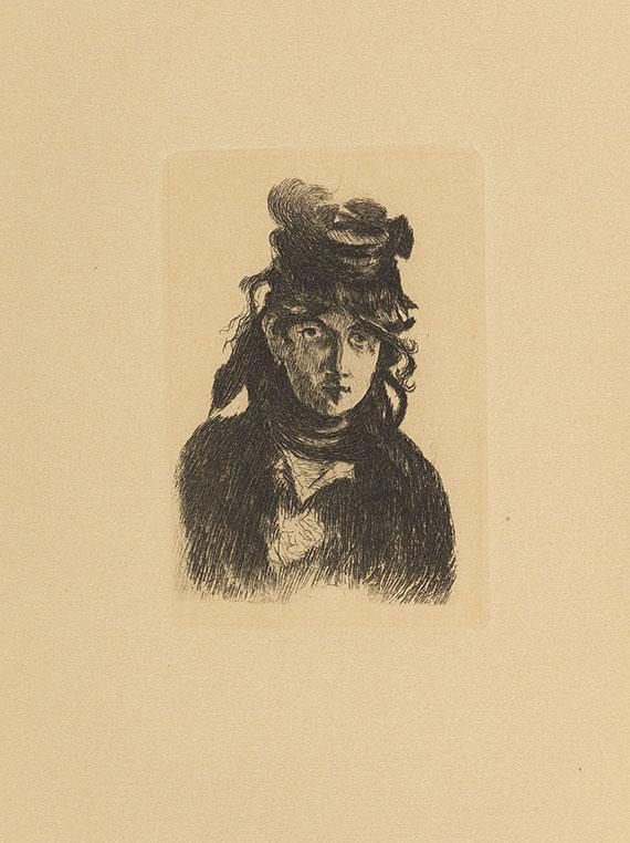 Theodor Duret - Die Impressionisten (2x) und Manet. 3 Werke.