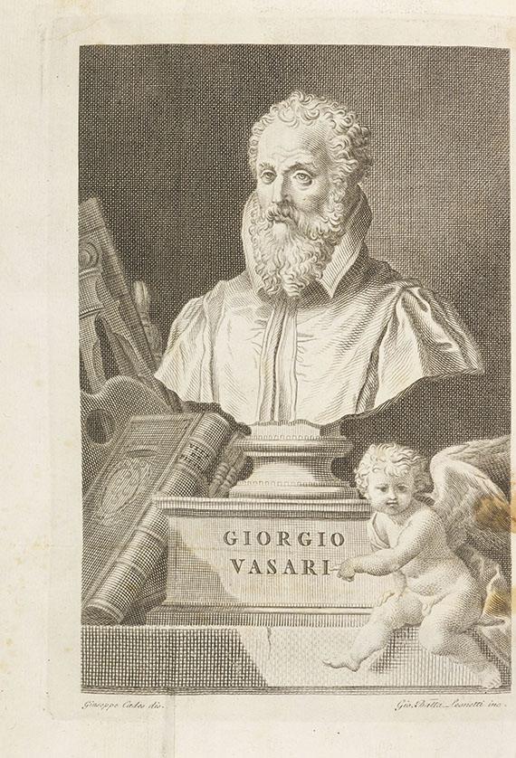 Giorgio Vasari - Vite. 11 Bde.