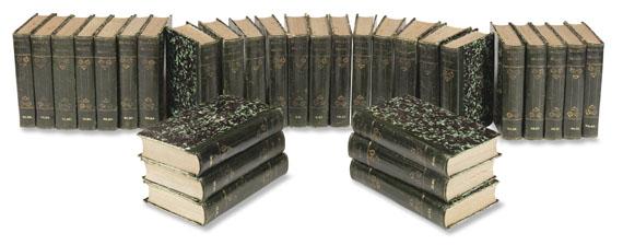 Johann Wolfgang von Goethe - Vollständige Ausgabe letzter Hand. 60 Bände