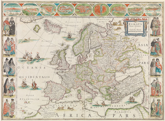Willem Janszoon Blaeu - Europa recens descripta
