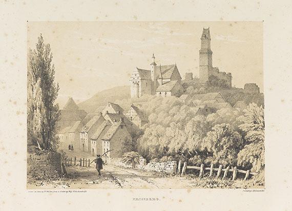 Mary de Humboldt - Views in Nassau. 1841