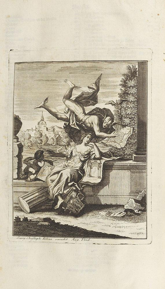 Johann Friedrich Penther - Sammelbd. Geometrie, Sonnenuhren, Bauanschlag