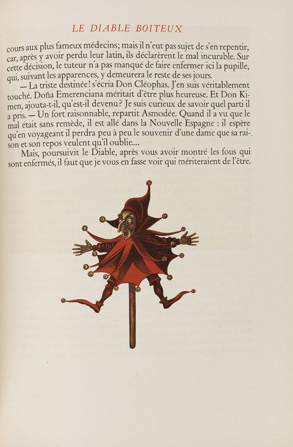 Alain-René Le Sage - Le diable boiteux -