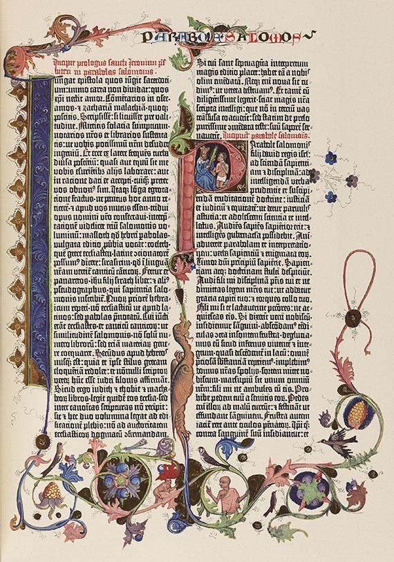 Gutenberg-Bibel - Gutenberg-Bibel. 2 Bände