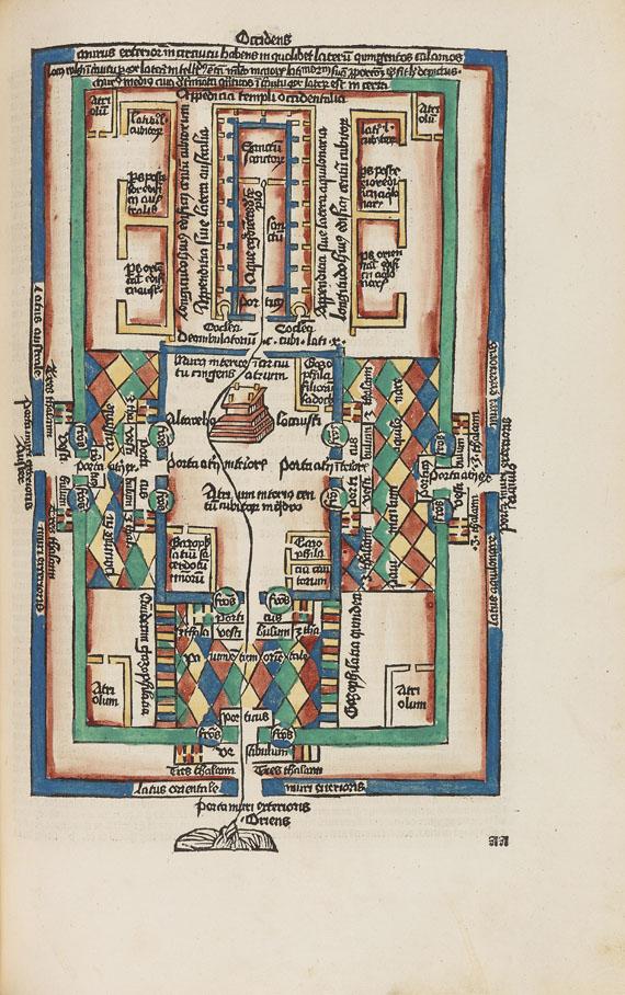 Biblia latina - Biblia cum postillis Nicolai de Lyra. Tl. 3. -