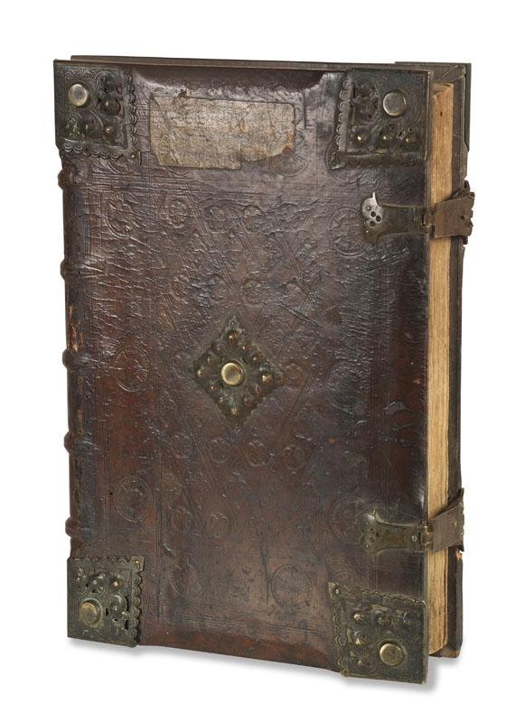 Biblia latina - Biblia cum postillis Nicolai de Lyra. Tl. 3. - Weitere Abbildung